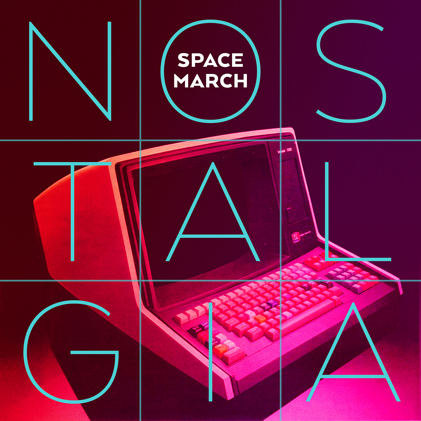 Space March – Nostalgia single cover